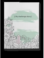 """Ежедневник """"My challenge diary"""""""