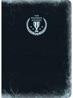 Блокнот Top Business Awards - линованный (черное серебро)