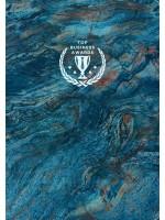 Блокнот Top Business Awards - нелинованный (синий мрамор)