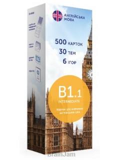 Карточки для изучения английского языка English Student Intermediate B1.1 книга купить