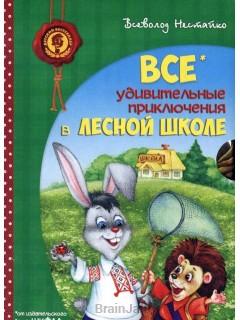 Удивительные приключения в лесной школе. Подарочный набор из 4-х книг книга купить
